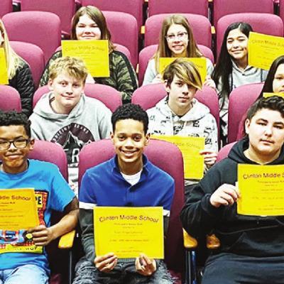 CMS Seventh Grade Principal's Honor Roll