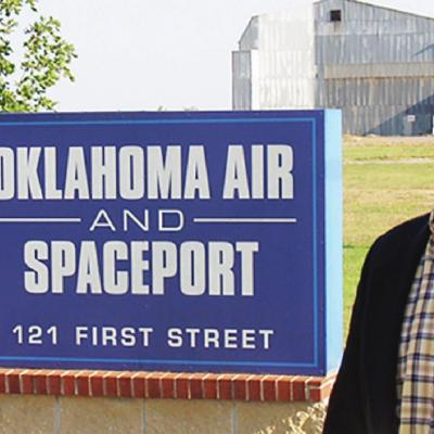 Outer space will play a role in western Oklahoma's future
