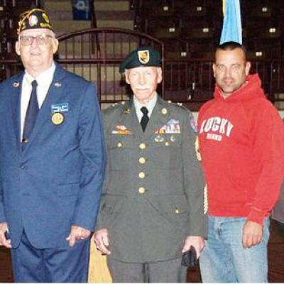 Clinton veterans honored at CHS ceremony