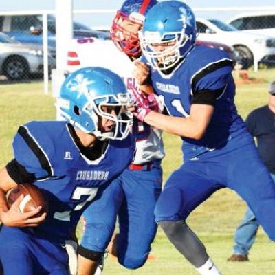 Local eight-man football teams back in action tonight