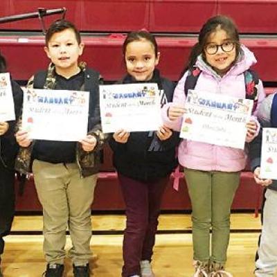 Southwest Elementary students recognized