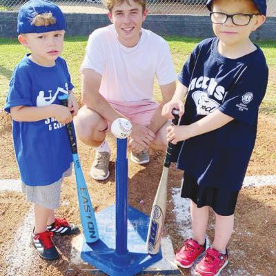 Lions Club opens baseball season
