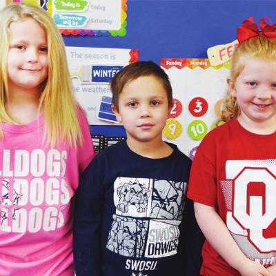 Kids wear Dr. Seuss-inspired attire