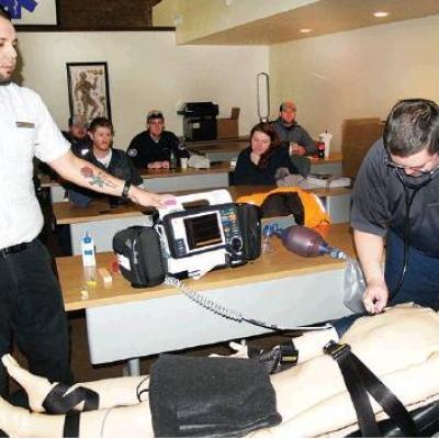 Cutting edge training at Sinor