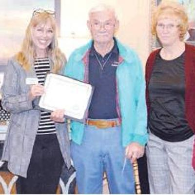Waldrop retires after long volunteerism stint