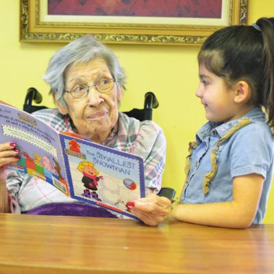Storytime brings generations together