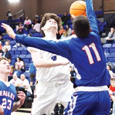 A-B splits first two tourney games