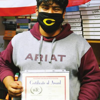 Local students earn high distinguishment from WTC