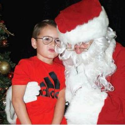 Meeting with Santa