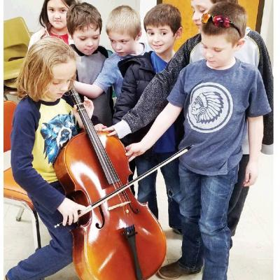 Cub Scouts study science of music