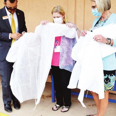 Gown donation