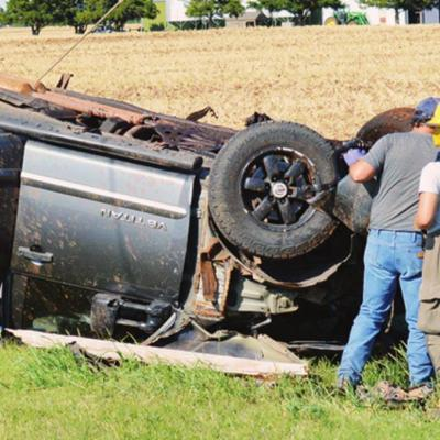 Wreck involves six people, four children