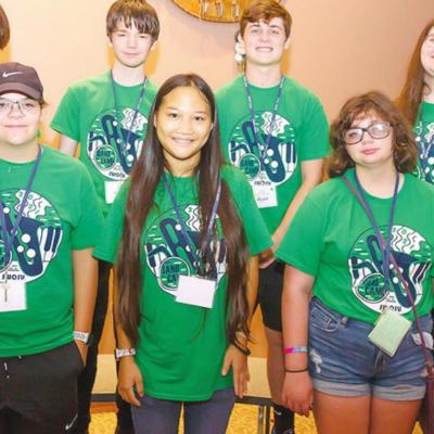 Clinton students attend camp