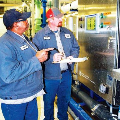 New water plant's load increasing