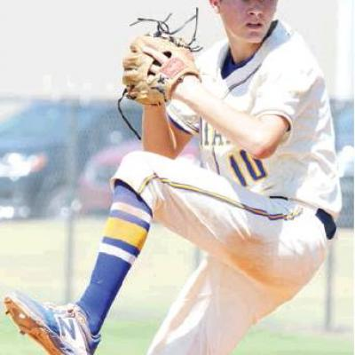 Indians compete to the end at district tourney