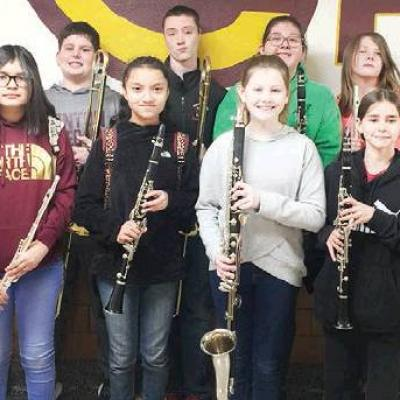 CMS students selected for honor band