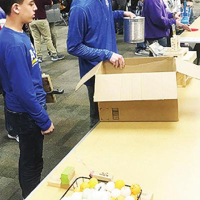 Students attend engineering fair