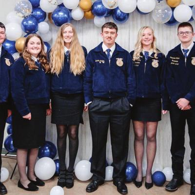 Clinton FFA names new officers