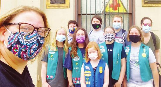 Local Girl Scouts travel to Savannah, Ga.