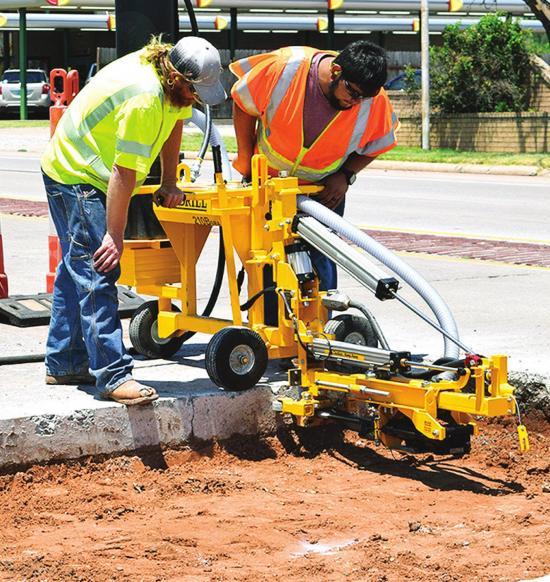 Repairs on Gary Boulevard