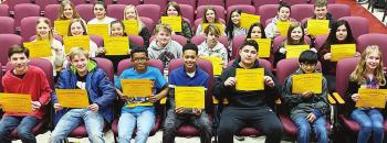 CMS Principal's Honor Roll recipients recognized at breakfast