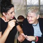 Resident visits 'nail salon'
