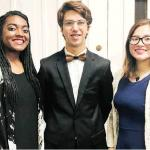 Clinton vocalists selected for Honor Choir