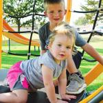 Sibling playtime