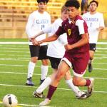 Clinton sweeps first scrimmage